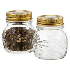 quattro stagioni 5 oz glass spice jar the container store