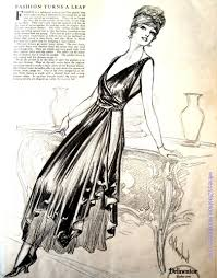 evening gown 1917 witness2fashion