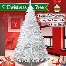new 7 white classic pine tree artificial