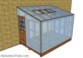 Shed Greenhouse Plans Attached Greenhouse Plans Myoutdoorplans Free Woodworking