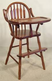 Amish Chair Amish Furniture Arrow Back High Chair