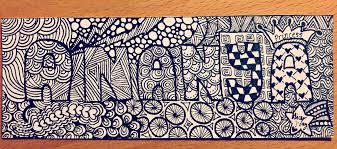pattern art name name doodle ananya by fyrephoenixalice on deviantart
