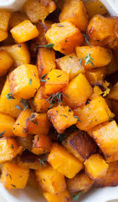 butternut squash with browned butter and thyme recipe