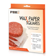 Stick Paper Hamburger Patty Paper Sheets Wax Paper Squares 250 Pcs 6 U2033 X 6