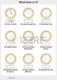 telling time worksheet write the clockwise and time on the clock
