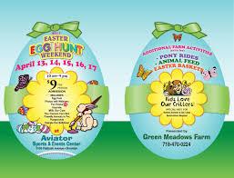 sports easter eggs green farm easter egg hunt weekend aviator sports