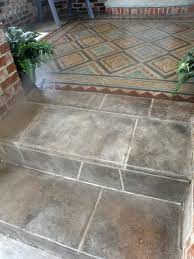 Faux Painted Floors - 9 best concrete carpets images on pinterest floor stencil homes