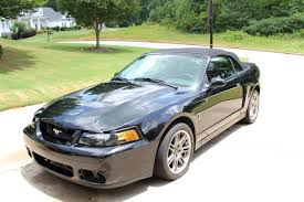 Black 2003 Mustang Expired 2003 Mustang Cobra 10th Anniversary Convertible