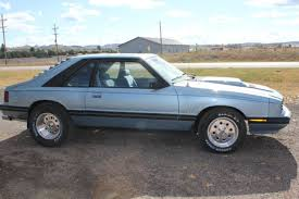 1982 ford mustang hatchback ford mustang hatchback 1982 blue for sale 1mebp68f0cf624011 1982