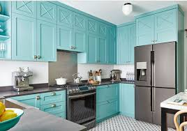 teal kitchen ideas amazing colorful ideas rustic teal kitchen cabinets distressed image