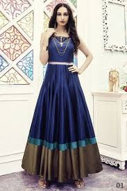 gown design women s fashion new designer party wear gown at rs 2100