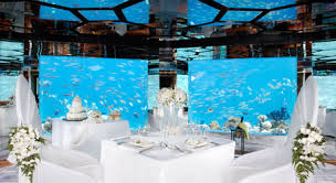 underwater wedding underwater wedding maldives underwater restaurant weddings