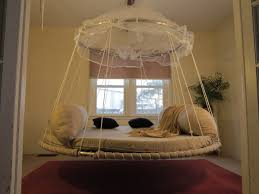 hanging round bed round hanging daybed floating bed dream bedroom