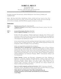 Resume Best Sample by Litigation Paralegal Resume Template