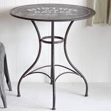 Iron Bistro Table Inspiring Black Indoor Iron Bistro Table By Dibor