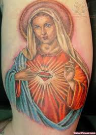 virgin mary tattoo tattoo viewer com
