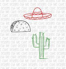 margarita svg svg dxf png cut file cricut silhouette cameo scrap booking cactus