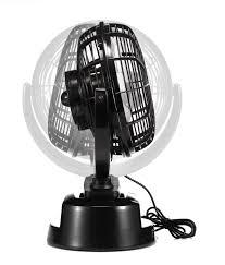 ventilateur de bureau usb pca heden ventilateur usb noir 150 mm 2 vitesses