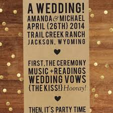 Simple Wedding Ceremony Program 10 Simple Wedding Programs Mywedding