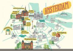 chambres d h es amsterdam maps of amsterdam o leary illustration illustration