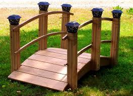 bedroom pleasing garden bridges redwood cedar pedestrian wooden