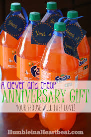 clever and cheap anniversary gift idea humble in a heartbeat
