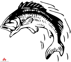 fish jumping out of water silhouette free clipart design download