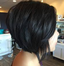 one side stack sassy bob bllack hair 4512 best a girl can dream images on pinterest hair cut