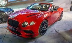 matte red bentley 2017 auto show highlights autonxt