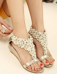 gold wedge shoes for wedding best 25 dressy flat sandals ideas on dressy flats