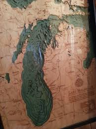 Lake Michigan Depth Map by Uxblog Idv Solutions U0027 User Experience Fake Wooden Bathymetric Maps