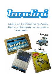 landini catalogus amtink by oude trekker en motoren