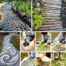 Do It Yourself Garden Art - 25 lovely diy garden pathway ideas ideachannels