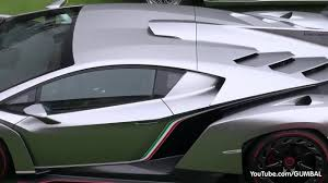 lamborghini veneno driving lamborghini veneno sound start up driving on the road coub
