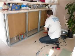 fabriquer un comptoir de cuisine en bois cuisine bois comment faire un comptoir de cuisine en bois