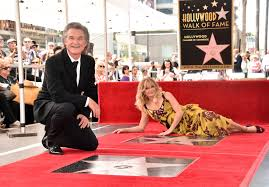 Hollywood Walk Of Fame Map Goldie Hawn And Kurt Russell Honored With Hollywood Walk Of Fame