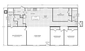 Floor Plan 4 Bedroom 3 Bath by View Velocity Model Ve 32563v Floor Plan For A 1680 Sq Ft Palm