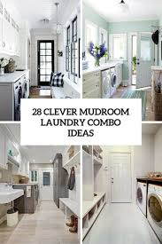 clever laundry and bathroom ideas clever mudroom laundry combo ideas shelterness with and bathroom