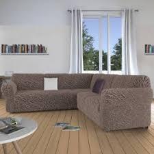 housses canapé d angle housse extensible canapé d angle intérieur déco
