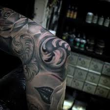 top 100 best elbow tattoos for men masculine design ideas