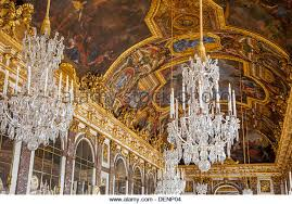 versailles chandelier chandelier painting in versailles palace stock photos chandelier