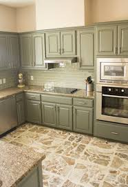 kitchen green painted kitchen cabinets green gray painted