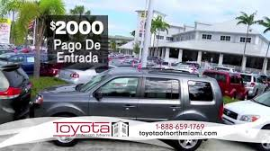 headquater toyota toyota of north miami double your down payment en espanol