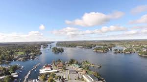 thousand islands drone footage youtube
