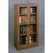 Bookcase With Frosted Glass Doors Glass Door Bookcase Ebay