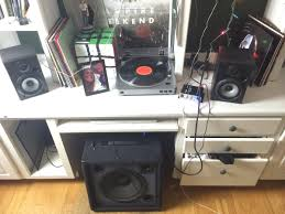 about to get a new turntable but this is my budget setup for now
