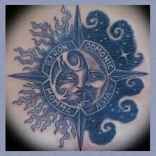 best tattoos seen moon and sun tattoos