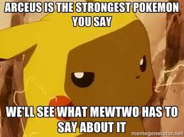 Arceus Meme - mewtwo vs arceus meme by kyoto05 on deviantart