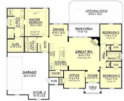 French Country Style House Plans Plan 50 171 16 X 50 Floor Plans