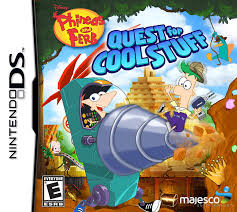 phineas and ferb quest for cool stuff nintendo ds walmart com